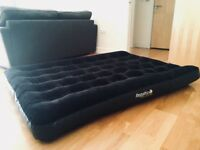 Regatta double air bed sold with battery electric pump