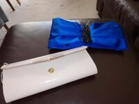 Two Monsoon Clutch Bags