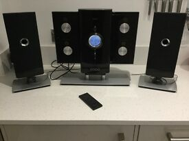 Iluv Music Hi-Fi Stereo System with iPod Dock