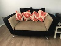 2 Seater Modern Couch Sofa Large 2 Seater (Delivery Opt)