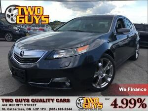 2013 Acura TL SH-AWD ADVANCE & TECH PKG/ LEATHER/ NAV /AWD