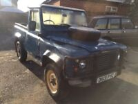 Land Rover 90 Defender. 1987 project.
