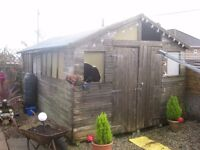 Large Wooden Shed 20'x10'