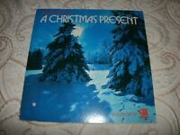"RONCO PRESENTS-""A CHRISTMAS PRESENT""-12.INCH (V/A)VINYL LP-WITH POP-UP XMAS SCENE-EX"