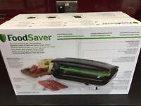 FOOD SAVER BLACK WITH BAG HOLDER BRAND NEW
