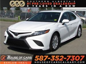 2018 Toyota Camry SE / Leather / Heated seats