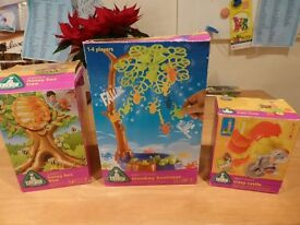 ELC Honey Bee Tree, Monkey Business & Crazy Castle games - suits 3-8 years