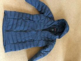 Coat, blue, Tog24, feather and down for superb warmth