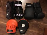 Boxing/MMA training gear