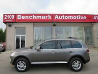2008 Volkswagen Touareg V6 AWD-LEATHER-ROOF-CLEAN CARPROOF-NEW T