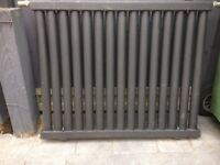 Radiator charcoal in colour