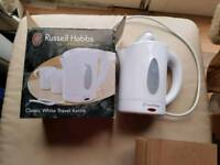 Travel kettle & cups