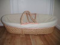 Unisex Moses Basket