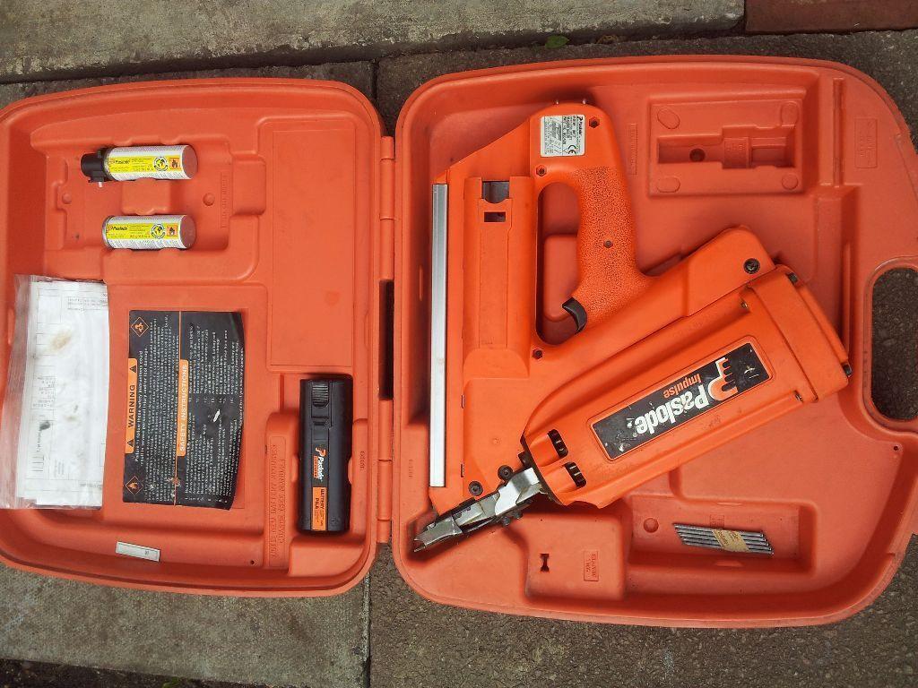 Paslode Impulse Imct 900420 Framing Nailer Nail Gun In