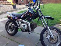 110cc pit bike needs back wheel