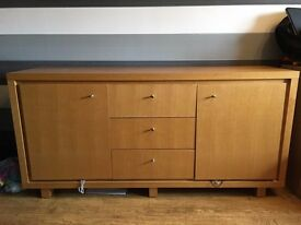 Next Oak Effect Sideboard
