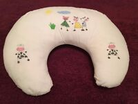 Widgey nursing pillow with protective cover