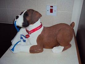 Sandicast Life Size Boxer Pup