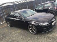 Audi A4 SE TDI ( sline interior & rotor alloys)