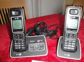 BT 6500 TWIN CORDLESS TELEPHONE