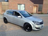 AUTOMATIC VAUXHALL ASTRA DESIGN . LEATHERS . 79 K MILES. SPORTS ALLOYS. CHEAPEST IN UK