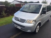 Vw Transporter T5 9 Seater LWB Low Milage