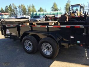 2016 Forest River DUMP TRAILER 6'8 X 14
