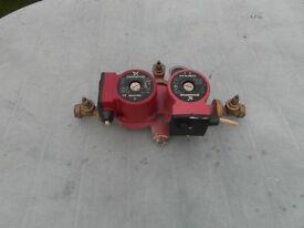 Grundfos Twin Central Heating Pump