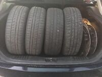 "Ford Fiesta wheels sets of 4 14"""