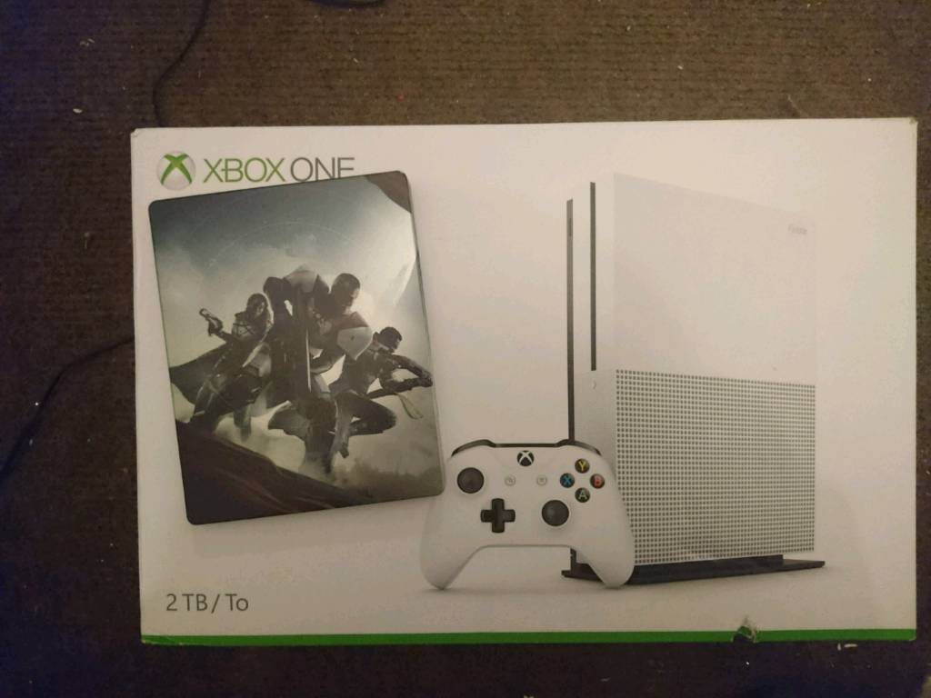 2tb Xbox One S and 2 games