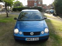 2004 Volkswagen Polo 1.4 Twist 5dr [2 OWNERS+CAMBELT+AC+ALLOYS+FSH]