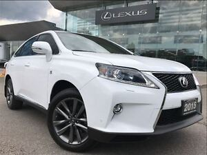 2015 Lexus RX 350 F Sport Navi Backup Cam Leather Sunroof