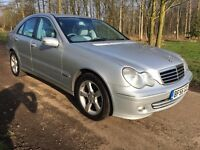 2007 56 MERCEDES BENZ C220 2.1 CDI AVANTGARDE SE 4DR AUTOMATIC SALOON IMMACULATE CONDITION