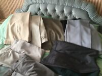 new and worn men's trousers