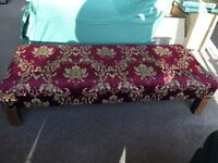 Vintage Fireside Tapestry Stool (see photos)
