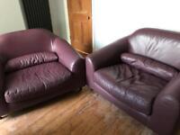 2 Love/Cuddle Chairs