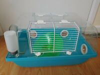 hamster cage for Russian or Chinese hamster. Too small for Syrian.