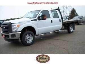 2015 Ford F-350 XL | Crew Cab | 9' Flatbed