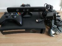 XBOX 360 Wireless Controller , Kinect and 15 Games