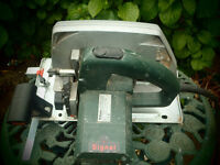 Metabo circular saw,240 volt,Trend blade model number KSE1678S,go
