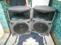 PA Speakers for Singer or Disco