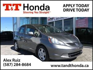 2012 Honda Fit LX *C/S* *Local Car, Ext Warranty Available*