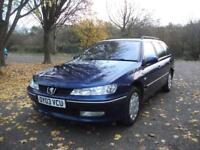 PEUGEOT 406 2.0 HDi 110 LX 5dr [AC+SN] ESTATE CLEAN CAR (blue) 2003