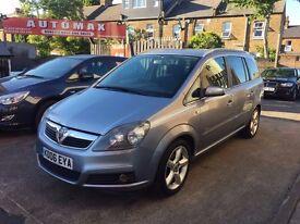 Vauxhall Zafira 1.8 i 16v SRi 5dr 6 MONTH FREE WARRANTY
