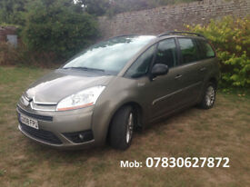 Citroen C4 PICASSO 5 VTR+ HDI Diesel Automatic 7 Seats ((1 year MOT))