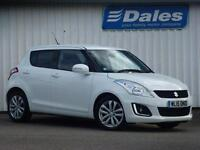 Suzuki Swift 1.2 SZ4 [nav] 5Dr Hatchback (superior white 26u) 2015
