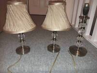 3 lamps dunnes £15