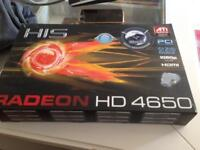 Silent ati Radeon 4650 gaming graphics card