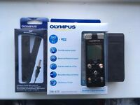 Olympus DM-670 Digital Voice Recorder (Dictaphone) with Microphone ME-34