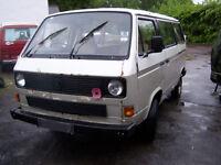 VW T25 Transporter campervan needing work